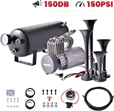 $165 » Sponsored Ad - Minocool Trumpe Train Horn Kit 12V, Train Air Horn Kit with 1GAL Air Tank 150PSI Air Compressor 4 Trumpets ...