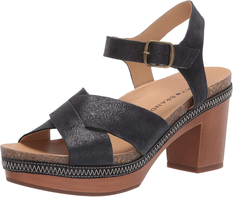 Lucky Brand Women's Harvia Heeled Sandal