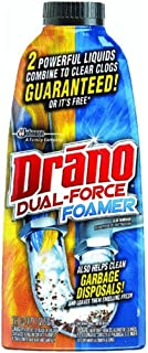 Drano Dual Force Foamer Clog Remover-17 oz. (Pack of 5)