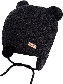 Winter Beanie Hat for Baby Kids Toddler Infant Newborn, Earflap Cute Warm Fleece Lind Knit Cap for Boys Girls