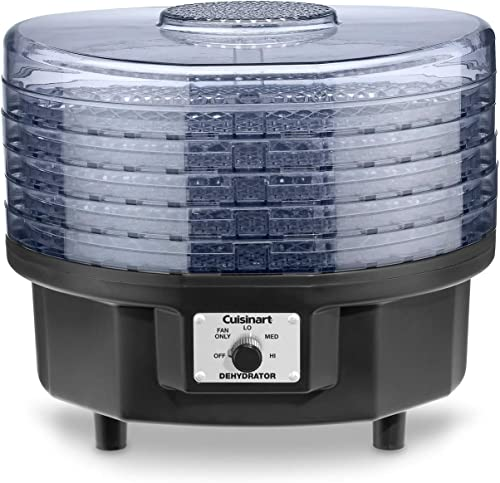high quality Cuisinart outlet online sale DHR-20P1 Food Dehydrator, 5 high quality tray, Black online sale