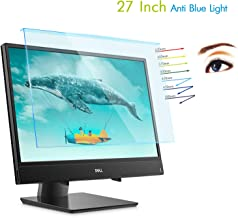 "Lapogy 27 Inch Anti Blue Light Glare Acrylic Monitor Screen Protector for Computer Widescreen Desktop with 16:9 Aspect Monitor for 27"" Dell/Asus/Acer/Samsung/Aoc/HP Monitor,Computer Accessories"