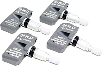 ITM Set of 4 315mhz TPMS Tire Pressure Sensors 2005 2006 2007 2008 Acura TL Replacement