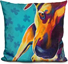 LiLiPi Soul Search Decorative Accent Throw Pillow