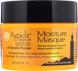 Agadir Argan oil Keratin Protein Moisture Masque (Anti Color Fade For Long Lasting Hair Color, Ideal For Use on All Hair T...
