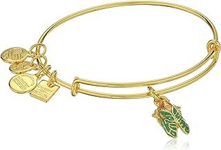 Alex and Ani Charity by Design Cicada Expandable Rafaelian Gold-Tone Bangle Bracelet