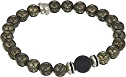 Be Strong Pyrite Gemstone Bracelet