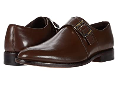 Anthony Veer Roosevelt Single Monk Strap (Chocolate Brown) Men