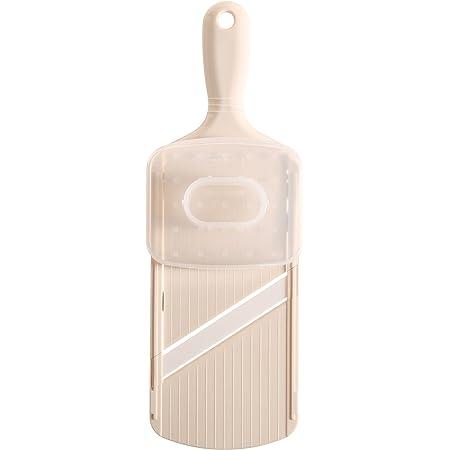 京セラ 日本製 スライサー ファイン セラミック ホワイト 3段階厚み調節 漂白 除菌 対応 プロテクター 付き Kyocera CSN-182WHP