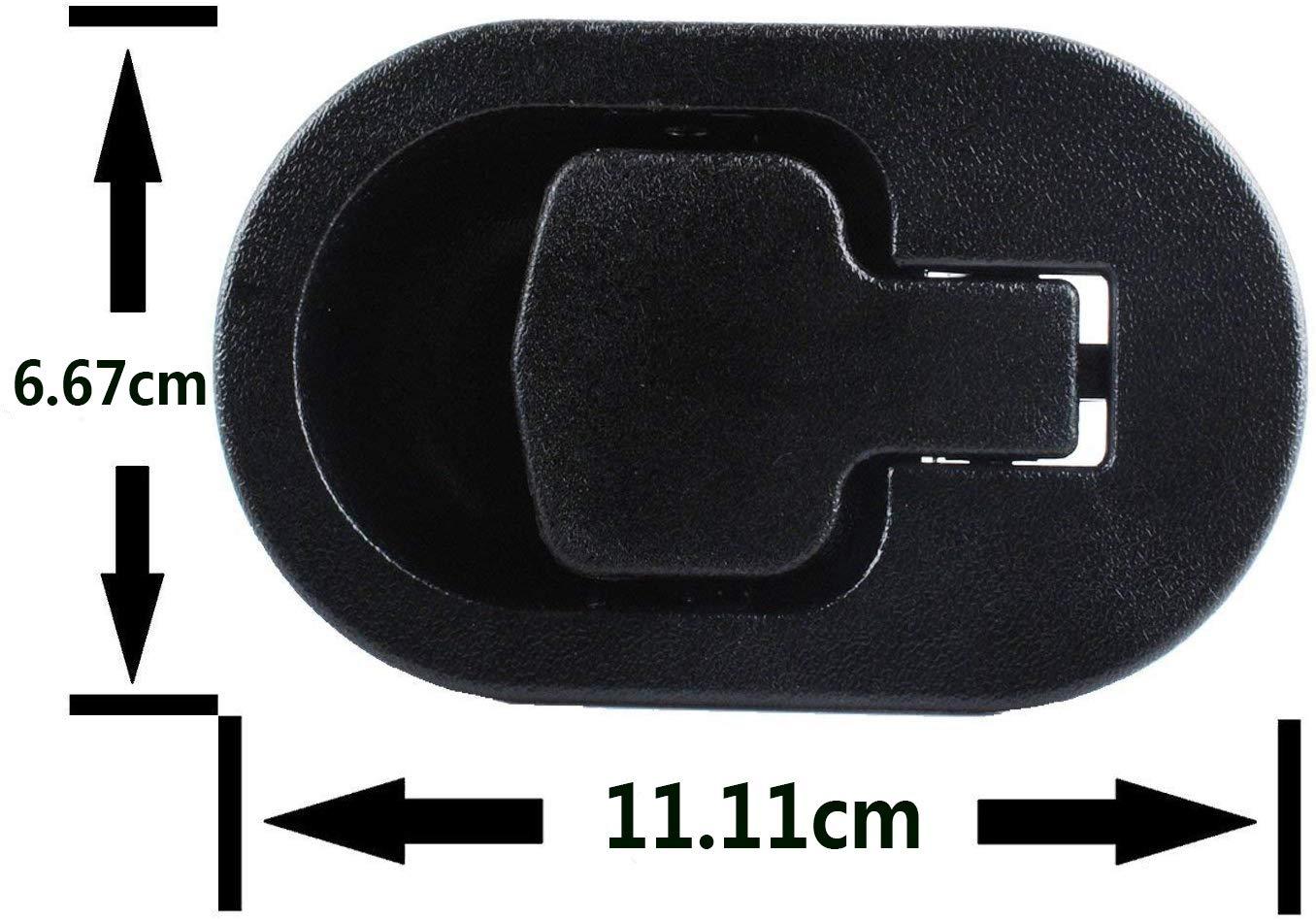 Palanca reclinable y universal de aluminio con tirador de metal para sill/ón de VORCOOL mango con cable de 96 cm