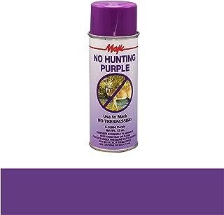 Majic Paints 8-20860-8 No Hunting Purple Spray Paint, Aerosol, No Hunt Purple
