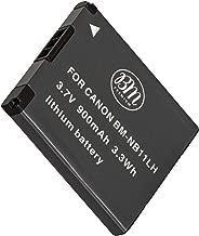 BM Premium NB-11L, NB-11LH Battery for Canon PowerShot Elph 110, Elph 130, Elph 135 IS, Elph 140 IS, Elph 150 IS, Elph 160, Elph 170 IS, Elph 180, Elph 190 IS, Elph 320 HS, Elph 340 HS, Elph 350 HS, Elph 360 HS, A2300 IS, A2400 IS, A2600 IS, A3400 IS, A4000 IS, SX400 IS, SX410 IS, SX420 IS Digital Camera