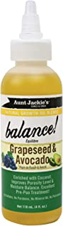 AUNT JACKIE'S NATURAL GROWTH OIL BLENDS- BALANCE - GRAPESEED & AVOCADO 120ml