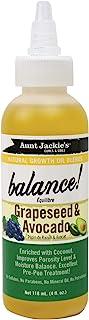 Aunt Jackie's Growth Oil Grape Seed & Avocado, 4 Oz