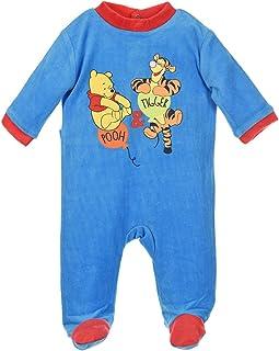 1431dac35 Pijama bebé niño Winnie the Pooh y Tigger Azul y naranja de 3 a 23 meses