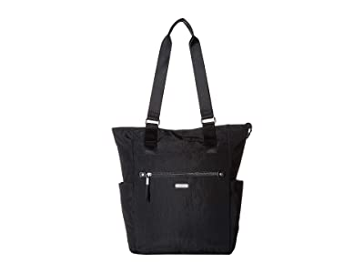 Baggallini New Classic Make Way Tote with RFID Wristlet (Black) Handbags