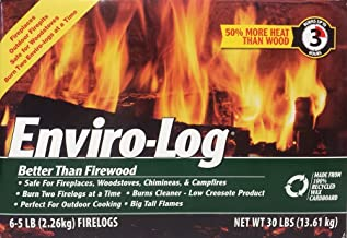 product image for Enviro-Log, Fire Log, 80 Ounce, 6 Pack