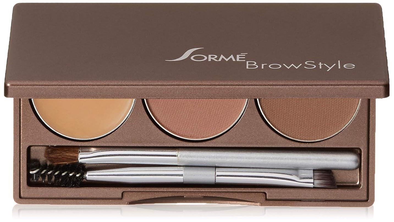 最大の勘違いするみぞれSorme' Treatment Cosmetics Sorme化粧品ブロースタイル、0.2オンス 0.2オンス 濃い茶色