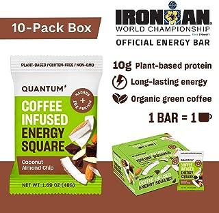 coconut cream energy bars