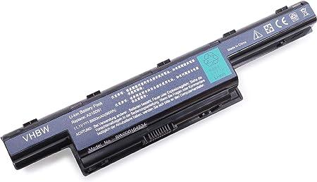 Vhbw Li Ion Akku 4400mah Für Notebook Laptop Acer Elektronik