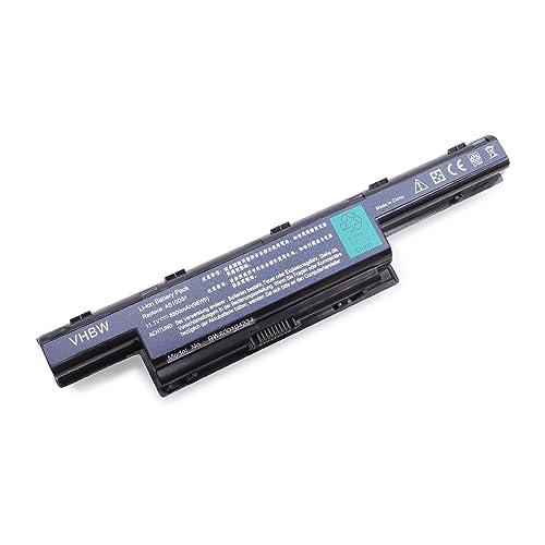 vhbw Li-Ion batería 8800mAh (11.1V) para Notebook Acer Aspire AS5741-332G25Mn, E1-531G, E1-571G, V3 y AS10D31, BT.00603.11, LC.BTP00.127.