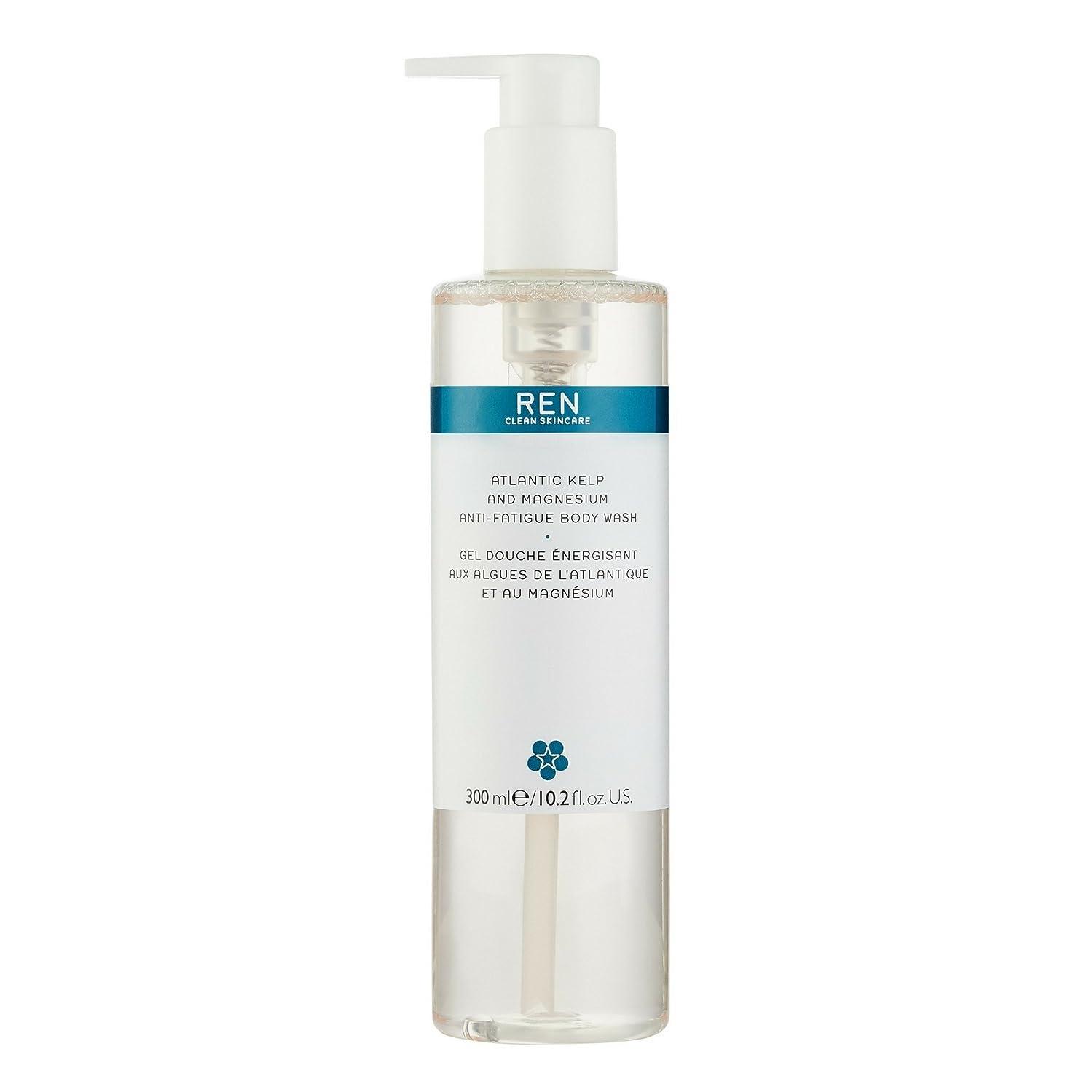 鬼ごっこ人種水差しREN - Atlantic Kelp And Magnesium Anti-Fatigue Body Wash