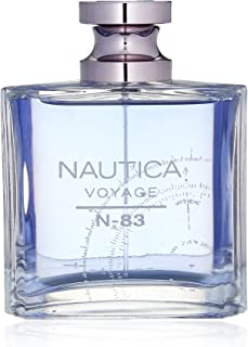 VOYAGE N-83 by Nautica 3.4 Ounce/100 ml Eau de Toilette Men Cologne Spray