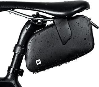Alston 100% Waterproof Strap-On Bike Saddle Bag/Bicycle Seat Pack Bag,Aero Wedge Packs