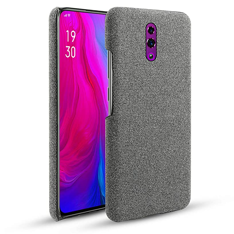 Torubia Oppo Reno Thin Slim Cellphone Case Full Lens Protection Grip Soft Case Back Cover Compatible with Oppo Reno-Grey