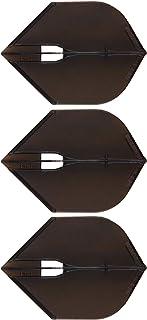 ダーツフライト L-style 【エルスタイル】 フライトエル ロケット ブラック (Flight-L L5c rocket black) | シャンパンリング対応フライト