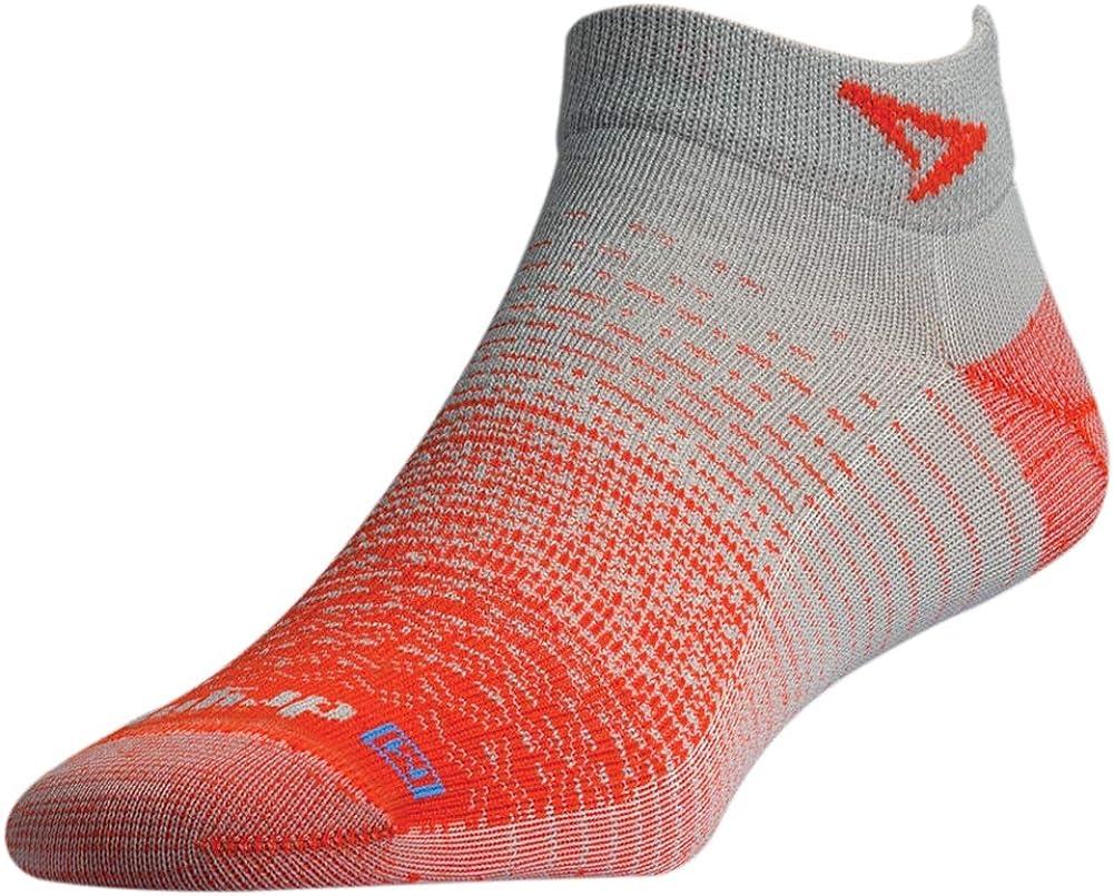 Drymax womens Thin Running Mini Crew Socks