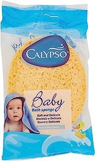 Calypso 31200029, Esponja Natural para Bebés, Celulosa Natural, Colores surtidos, 1 Pieza