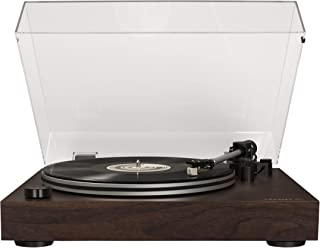 Crosley C8 2-Speed Belt-Driven Turntable with Built-in Switchable Pre-Amp, Walnut