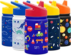 Simple Modern Kids Summit Sippy Cup Thermos 10oz - Stainless Steel Toddler Water Bottle Vacuum Insulated Girls and Boys Hy...