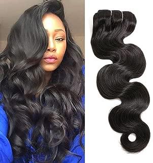 "18"" 7PCS 120g Body Wave Hair Clip In Hair Extensions Human Hair Double Weft Brazilian Virgin Hair Full Head Clip on Remy Human Hair Extensions for Africa Amrica Black Women"