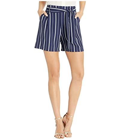 Tribal Flowy Shorts w/ Self Tie (Nautical) Women