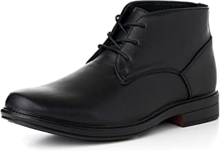 Mens Leather Lined Dressy Ankle Boots