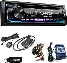 JVC KD-R990BTS CD Receiver w/Bluetooth, Includes SWI-RC Steering Wheel Control Interface & SirisXM Tuner