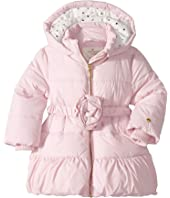 Kate Spade New York Kids - Rosette Puffer Coat (Infant)