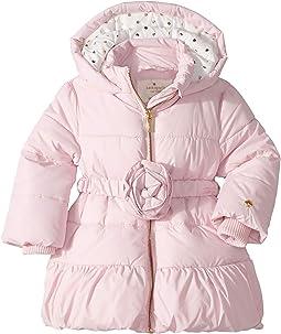 Rosette Puffer Coat (Infant)