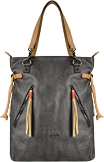 Sherpani Tempest Convertible Tote Bag, and Backpack for Women, with 15 Inch Laptop Compatible