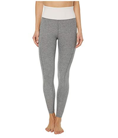 PUMA Studio Luxe Eclipse 7/8 Tights (Medium Gray Heather/Rosewater) Women