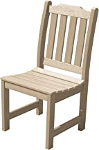 product image for highwood AD-CHDL1-TAU Lehigh Armless Dining Chair, No Arms, Tuscan Taupe