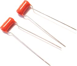2x (1 Pair) .022uf 200v ORANGE DROP 715P Tight Tolerance Polypropylene Guitar Tone Capacitors Small Size