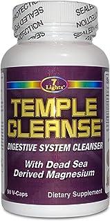 7 Lights Temple Cleanse 90 Capsules, Magnesium, Oxygen-Based Colon Cleanse Detox