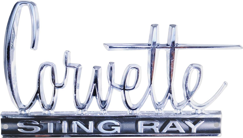 1966-1967 Corvette Sting Ray Logo 12