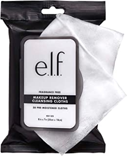 e.l.f. Cosmetics E.l.f. fragrance-free cleansing cloths, aloe-infused, 20 pack