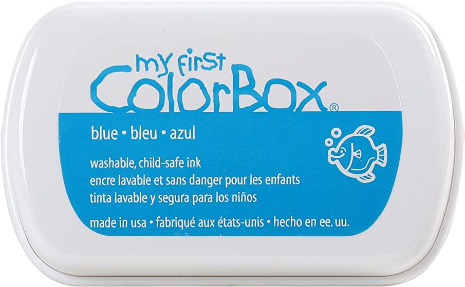 ColorBox 68606 My First Full Inkpads, Blue