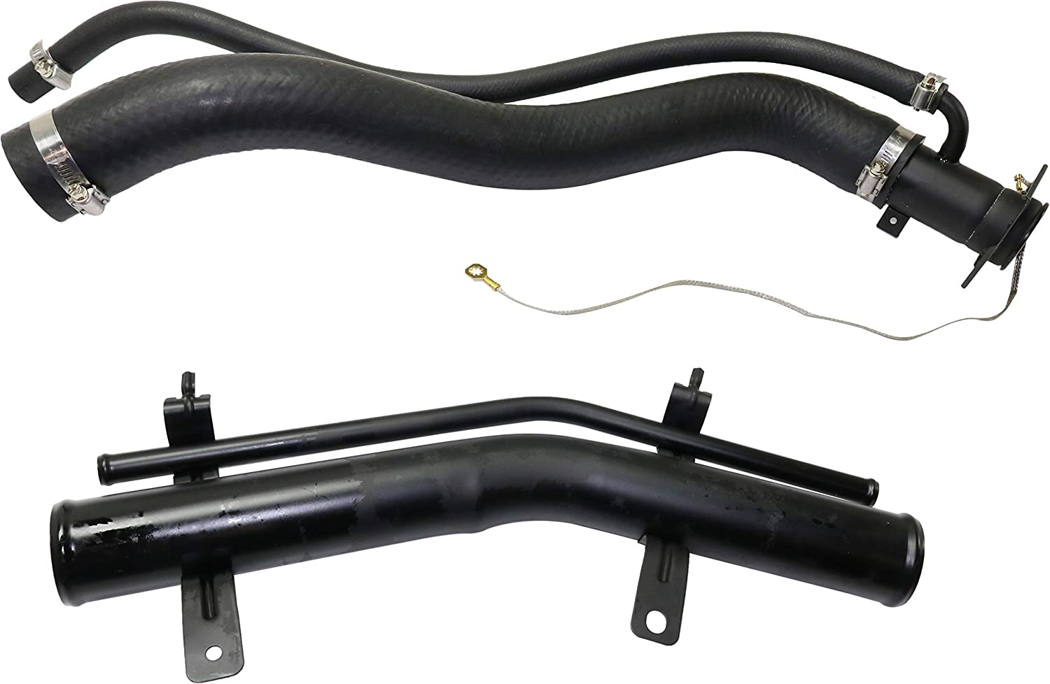 Evan-Fischer Fuel Tank 70% OFF Outlet Filler Neck Compatible 2000-2003 With Che Our shop OFFers the best service