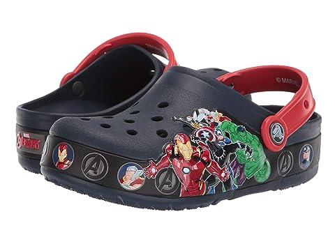 bc4646ff09f71 Crocs Kids CrocsFunLab Marvel Band Light Clog (Toddler Little Kid ...